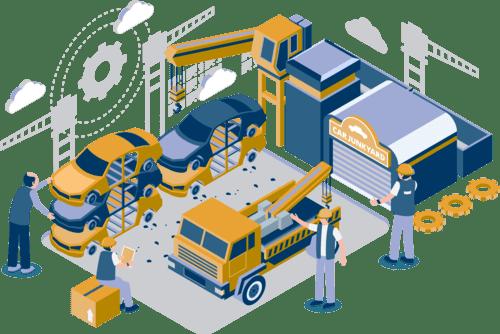 Simplifica el despiece de los vehículos